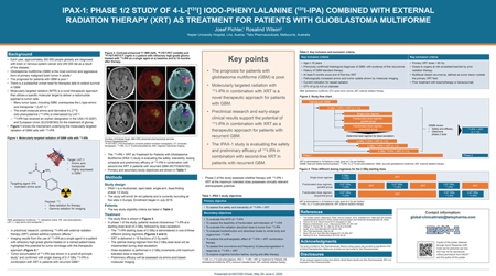Telix Pharmaceuticals Limited, ASCO Poster 2020, IPAX-1 Phase ½ Clinical Trial for the treatment of Glioblastoma Brain Cancer